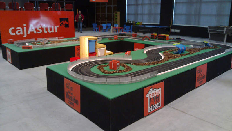 alquiler scalextric de coches 1