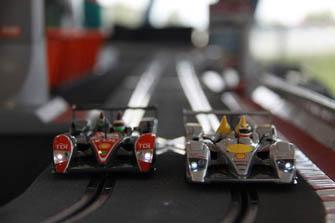 Eventos con coches de scalextric