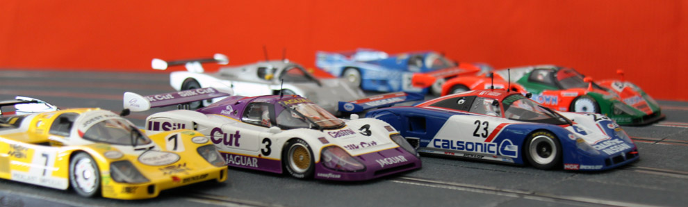 scalextric lemans