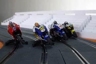 Eventos con motos de scalextric