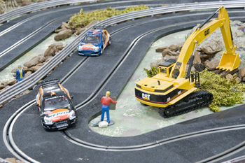 alquiler scalextric rally 1