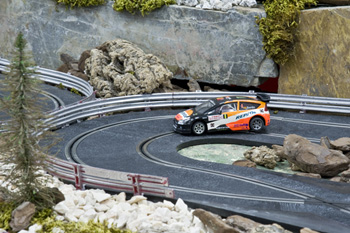alquiler scalextric rally 2