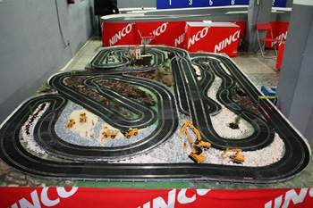 alquiler scalextric rally 3