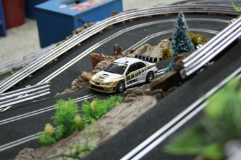 alquiler scalextric rally 4