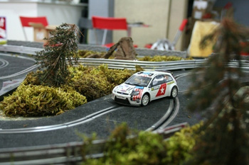 alquiler scalextric rally 5