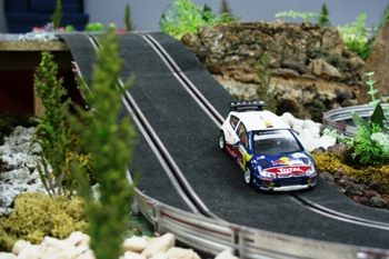alquiler scalextric rally 6